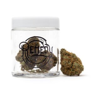 Dirk's OG in Remedy glass jar