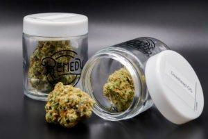 deadhead og in remedy glass packaging