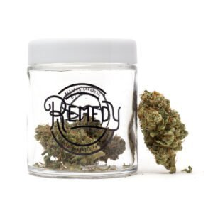 remedys outer space flower in jar