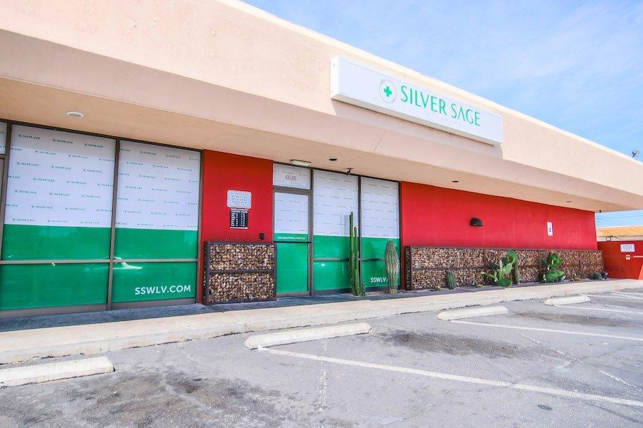 silver sage wellness dispensary exterior