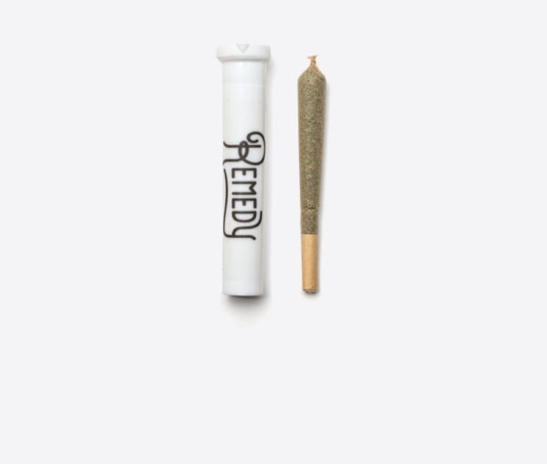 remedy preroll joint with packaging