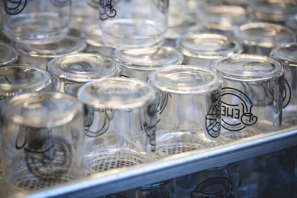 remedy glass containers