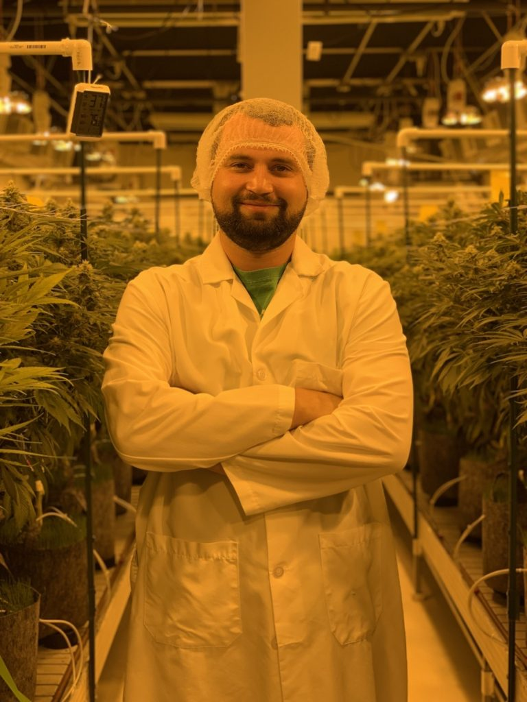 Remedy's new cultivation director Hassan Khalatbari