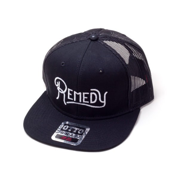 remedy snapback hat mesh